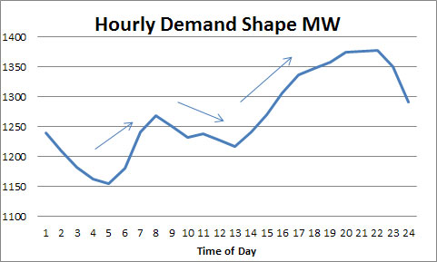 Hourly Demand / Load Shape